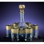 стакан Гусь-Хрустальный GE08-500/837 Версаче (набор)
