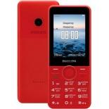 сотовый телефон Philips Xenium E168, красный