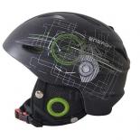 шлем горнолыжный Action PW-926, размер М 55-58 см