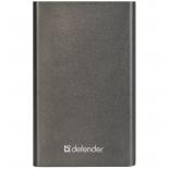 аккумулятор универсальный Defender ExtraLife 4000B Li-pol, 1 USB, 4000 mAh, 2.1A (83619)