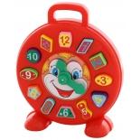 товар для детей Часы Полесье Клоун (в сеточке)