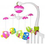 игрушка для малыша Подвеска музыкальная Жирафики Рыбки (634740)