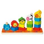 игрушка-сортер Пирамидка Mapacha Сафари 76676