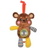 игрушка для малыша Музыкальная подвеска-погремушка Жирафики Мишка