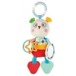 игрушка для малыша Подвеска Жирафики Совёнок Бонни (939369)