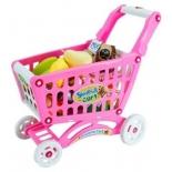 игрушки для девочек Тележка для покупок Наша Игрушка с продуктами (661-78)