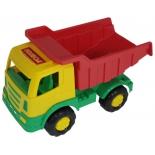 игрушка Полесье Мираж, Автомобиль-самосвал красный кузов