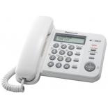 проводной телефон Panasonic KX-TS2356RUW Белый