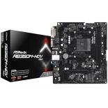 материнская плата ASRock AB350M-HDV R3.0 (mATX, AM4, AMD B350, 2xDDR4, VGA+DVI-D+HDMI)
