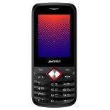 сотовый телефон Digma Linx A242 2G, черный/красный