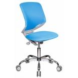 компьютерное кресло Бюрократ KD-7/TW-55 голубое