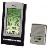 метеостанция Hama EWS-800, серебристо-черная
