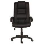 компьютерное кресло Бюрократ T-9906AXSN чёрное