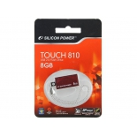 usb-флешка Silicon Power Touch 810 8Gb, красная