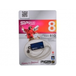 Usb-флешка Silicon Power Touch 810 8Gb, синяя, купить за 450руб.