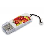 usb-флешка Verbatim Store n Go Mini Tattoo Koi 49886 16Gb, белый/рисунок