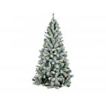 новогодняя елка Royal Christmas Flock Tree Promo Warm LED Hinged (210см)