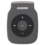 аудиоплеер Digma P2, серый/черный