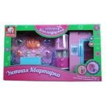 Мебель для кукол Наша Игрушка Уютная квартирка Набор для кухни (100459910) с аксессуарами, купить за 1 430руб.