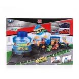 Игрушки для мальчиков Технопарк Автомойка с функцией воды, 2 машины меняют цвет (P6788A) в коробке, купить за 1 565руб.