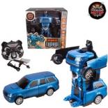 робот-конструктор Машина-робот Пламенный мотор Космобот Сириус, аккум, синий (870337)