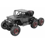 радиоуправляемая модель машинка Пламенный мотор Краулер Штурм (р/у, 6WD, металл, пульт ДУ), черный