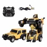 радиоуправляемая модель Машина-Робот Пламенный мотор Космобот Осирис (870341), желтый