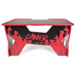 Стол компьютерный Generic Comfort Gamer2/VS/NR черный,красный, купить за 29 990руб.