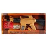 оружие игрушечное Играем вместе, автомат М-16 (13) свет, звук, вибрация