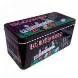 набор для покера Partida   Holdem Light на 200 фишек (с номиналом)