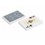игральные карты Fournier 2818 100% пластик, синий