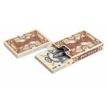 игральные карты United States Playing Card Company Bicycle Civil War, коричневые