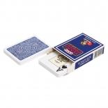 игральные карты Modiano Golden Trophy 100% пластик, синий