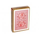 игральные карты Modiano Golden Trophy 100% пластик, красный