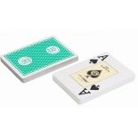 игральные карты Fournier 818 Casino Europe, зеленая рубашка