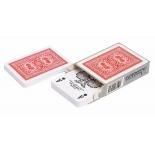 игральные карты Modiano Old Trophy 100% пластик, красный