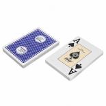 игральные карты Fournier 818 (54 шт.), синяя рубашка