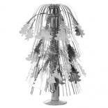 новогоднее украшение Декор Торг-Хаус Ёлочка настольный фонтанчик, 40 см, серебряная