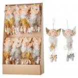 новогоднее украшение Подвеска House of Seasons 83298 (кукла/ангел)