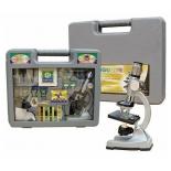 набор для научных экспериментов Микроскоп Наша Игрушка Юный ученый (60 предметов)