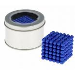 головоломка Neocube 216 шариков d=0,5 см, синяя