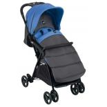 коляска Cam Curvi 119, темно-серая/синяя