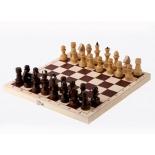 шахматы Орловская ладья обиходные лакированные в комплекте с доской