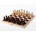 шахматы Орловская ладья обиходные парафинированные в комплекте с доской