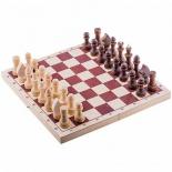 шахматы Орловская ладья турнирные парафинированные, с доской