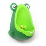 горшок детский Писсуар для мальчиков Roxy kids Лягушка с прицелом, зеленый