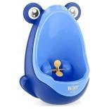горшок детский Писсуар для мальчиков Roxy kids Лягушка с прицелом, синий