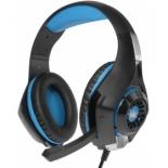 гарнитура для ПК Crown CMGH-102T, черно-синяя