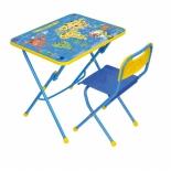 парта детская комплект Ника КПУ1 Познаю мир (стол и стул)
