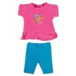 одежда для кукол Mary Poppins Цветочек 209 (туника и легинсы)  38-43см